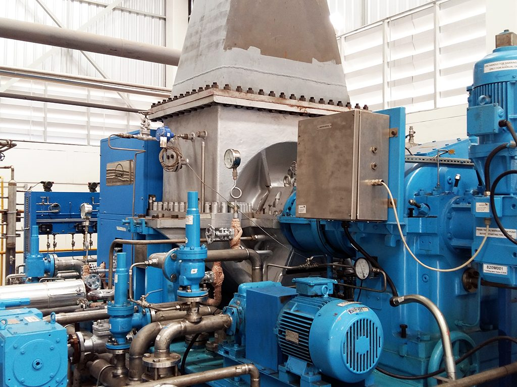 Steam Turbine Generator 1150 kw