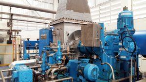 Steam Turbine Generator 1150 kw